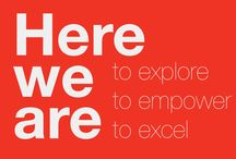 2015: Here we are! / Het thema van het 2015 TEDxAmsWomen event: here we are! To explore, to empower, to excel!