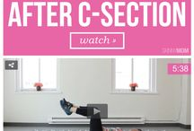 csection workout postpartum