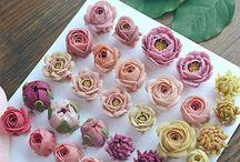 масленные цветы