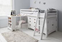 Bed Room Furniture Unit Storage Solution White Desk Office Chest Drawers Cabinet