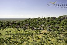 Ongava Lodge - Namibia - Wilderness Safaris / Ongava Lodge sits on a small hill in the Ongava Game Reserve, a beautiful vantage point over the plains that also takes in an incredibly well-frequented waterhole.