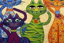 Artsy cats / by Else Christie