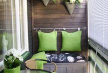 Balkon i taras / Balcony & terrace