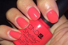 CND nail polish