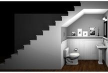 bagno sotto le scale