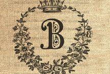 Vintage monogram!!