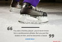 Hockey Quotes / Famous quotes from big names in Hockey