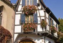 HOUSES- Kaysersberg in Alsace, France