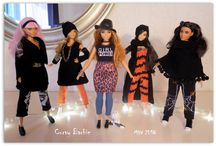 Curvy Barbie 2018 - clothes / Clothes for Curvy Barbie; tutorials; different styles for Curvy Barbie made by me - just for fun :)