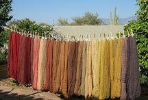 Dyeing yarn & Fibre