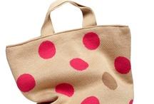 • Pattern: Polka dots • / polka dots, dotty, dot pattern, colorful dots, modern dots, pattern, texture, yellow, black, pink, red, gray