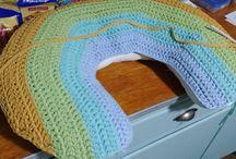 Crochet Papatya Ribbon Projects / Kismet Yarns