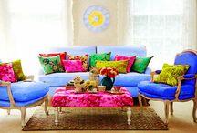 Coloris / Varios cadeiroes em todo o tipo de cores e textura