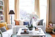 Livingroom window treatment
