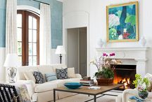 mantel styling / styling your mantel