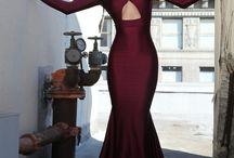 Lycra dresses