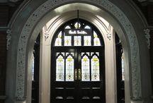 gates, entries, staircases
