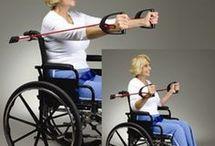 Rörelse att göra i rullstol
