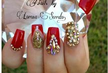 Bling Nails / Not for the faint hearted! Here are designs that will certainly turn heads in the club!