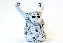 Polymer Clay Sculptures / by Allyson Daniels