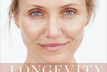 """The Longevity Book / """"The Longevity Book"""" from Cameron Diaz is all about aging - how to do it with strength, grace, health and wisdom. In stores in April 2016."""