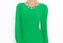 Zöldek és laza ruhák
