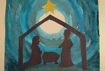 joulu ja uusi vuosi kuvis askartelu