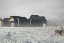 Norwegian Cottage / Architectural Visualization