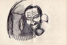 Ilustraciones para cine 6 / Ejercicio ENERC. 1990