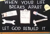 Church Bulletin Board Inspiration