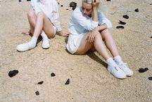 EYTYS x Dafy Hagai / Eytys Fall/Winter 2015 story, photographed by Dafy Hagai. The story features street-casted models portrayed together with members of their own families, referencing the photographer's own childhood memories when traveling across Israel with her family.