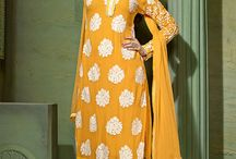 Straight cut Salwar suits collection / Pure bamberg fabric straight cut Salwar suit collection