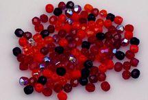 """Brusky """"ohňovky"""" - Fire polished beads"""