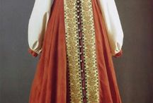 Russian traditional clothing