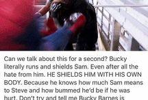 James Buchanan Barnes - Winter Soldier - Sebastian Stan
