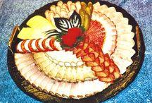 dekorative Platten