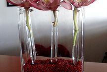 Florist Ideas with Test Tubes and Glassware / A beautiful collection of wonderful ideas for using chemistry inspired glassware for flowers, plants and floristry.   See our full range here https://www.theconsumablescompany.com/product-category/glass-products/