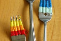 tenedor decoración