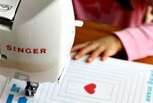 Teaching sewing