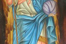 Archangels Gabriel, Raphael, Michael,