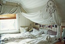 bedrooms / by Denise Kelly