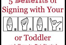 Benefits and advantages of signing to children