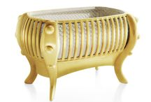 """Art Furniture - La Perla Crib Gold Edition / La Perla Crib Gold Edition. """"The most exclusive dream in the world"""". The world´s most expensive baby crib."""