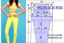Wykroje - spodnie