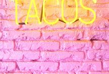 jellow & pink