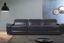 Black Top Grain Leather Furniture