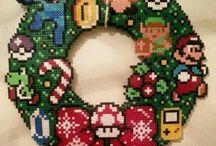 Jul i perler