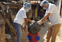 Slum Cleanliness Drive