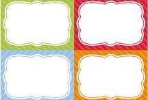 Планирование: Stickers, label, tag.