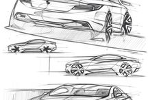 Cars / Sketches